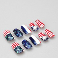 Americana Acrylic Nail Set