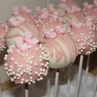 One Dozen Baby Shower Themed Cake Pops