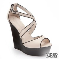 LC Lauren Conrad Platform Wedge Sandals - Women