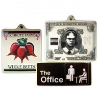 The Office Ornament Set
