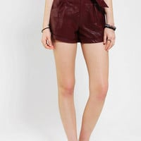 Urban Outfitters - Lovers &amp; Friends Beauty Faux Leather Short