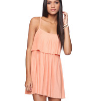 Pleated Tiers Dress | FOREVER21 - 2011407990