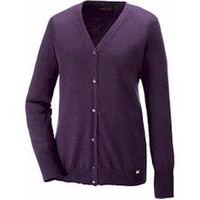 Custom embroidered North End Dollis LADIES' Soft Touch Cardigan 71004 from Stitch America, the Embroidery Superstore