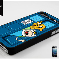 custom iPhone 5 case police box advanture time