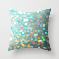 Dragon Glimmer Throw Pillow by Richard Casillas