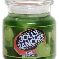 Jolly Rancher by Hanna's Candle 16.75-Ounce Jolly Rancher Apple Jar Candle
