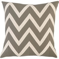 Chevron Blush 18&quot; Pillow in All Mother&#x27;s Day Gifts | Crate and Barrel