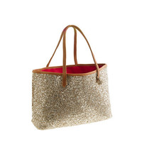 Girls&#x27; glitter tote bag