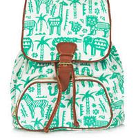 Safari Zoo Backpack