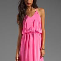 Amanda Uprichard Y-Back Maxi Dress in Hibiscus from REVOLVEclothing.com