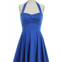Hold Onto Your Honey Dress in Blue 