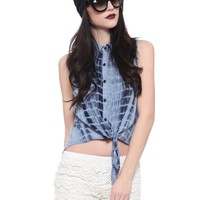 Savannah Tie Dye Blouse - Clothes | GYPSY WARRIOR