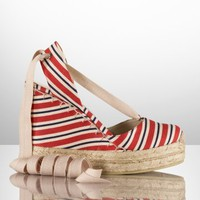 Gayle Multi-Striped Espadrille