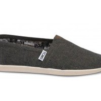 Burnt Chambray Youth Classics | TOMS.com