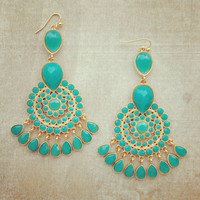 Pree Brulee - Uluru Blue Earrings