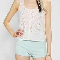 Jack By BB Dakota Lassiter Eyelet Tank Top