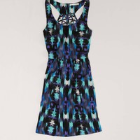 AE Lattice Back Dress | American Eagle Outfitters
