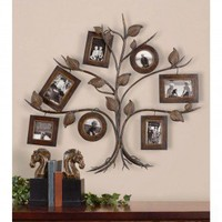 Uttermost Rustic Tree Photo Collage Set - 13722 - Picture Frames - Decorative Accents - Decor