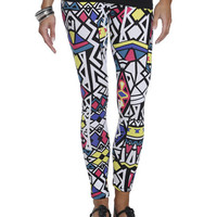 Pop Art Tribal Legging | Shop Just Arrived at Wet Seal