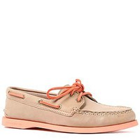 Sperry Topsider Shoe AO 2 Eye in Stone and Coral