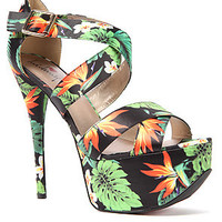 Sole Boutique Platform Carleena in Green