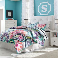 Kennedy Paisley Quilt + Sham