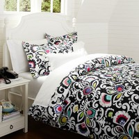 Jules Floral Reversible Duvet + Sham