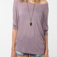 Daydreamer LA Fitted-Sleeve Dolman Tee