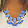 Fan Of Fringe Necklace: Periwinkle | Hope&#x27;s