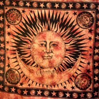 Sun and Moon Tapestry Fringe
