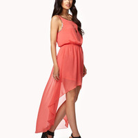 Chained High-Low Dress | FOREVER 21 - 2048064388