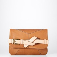 Ann Taylor -  Leather Strap Clutch