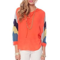Kelly Blouse in Coral