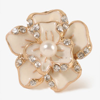 Abstract Flower Studs | FOREVER 21 - 1030187294