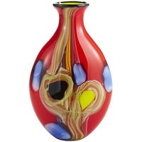 Extra-Large Art Glass Vase