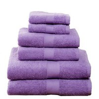 Amazon.com: 6 Piece Towel Set, Grape: Home &amp; Kitchen