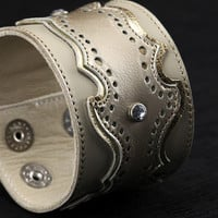 Ethos Custom Brands - Diadem Cuffs - Hand-crafted Leather Products