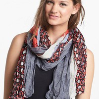 Tasha Retro Floral Crinkle Scarf | Nordstrom