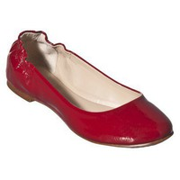 Womens Mossimo Supply Co. Ona Ballet Flats - Red Patent