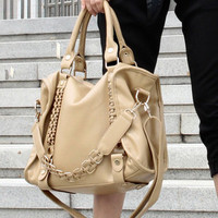 chain baglarge capacity  shoulder bag handbag