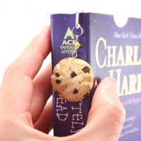 Handmade Gifts | Independent Design | Vintage Goods Scented Chocolate Chip Cookie Bookmark - For The Home