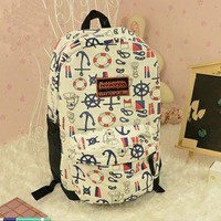 fashion Anchor Backpack Bag