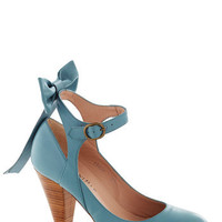 Bow My Darling Heel | Mod Retro Vintage Heels | ModCloth.com
