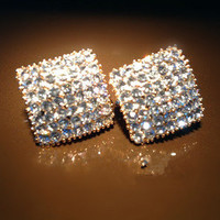 Super Flash Diamond Earrings