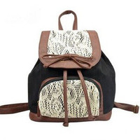 Cute Lace Bowknot Backpack Bag