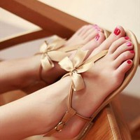 Summer Flat Sandals from sniksa