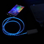 Luminous USB Cable Cord (1M) & USB Power Charger For Iphone 4/4s/5