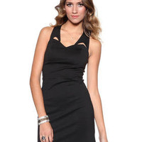 DJPremium.com - Women - Shop by Department - Dresses - Maura Ponte Cut out Dress