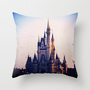 Cinderella&#x27;s Castle Throw Pillow by Julianna Rae