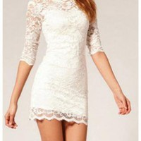 Lace Bodycon Dress